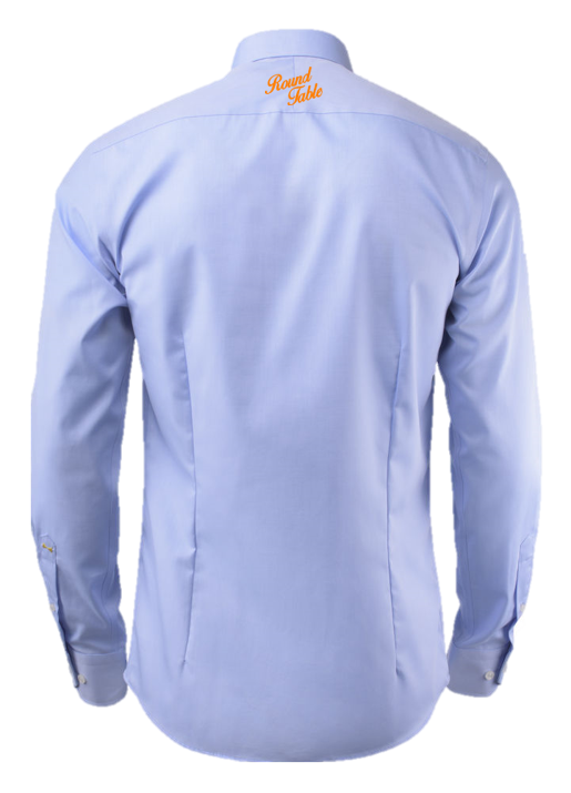 RTNL Shirt - Lichtblauw (slim fit)